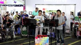 舊歡如夢+ 情花開+ 檳城艷-- Ah Lam & Fanny -- 3L樂隊香港街頭音樂會N ...