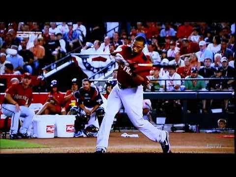 2011 MLB Home Run Derby Slow Motion Baseball Swings
