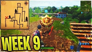 ''Follow the treasure map found in Shifty Shafts'' LOCATION! Fortnite Season 5 Battle Pass Week 9