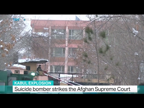 Kabul Explosion: Suicide bomber strikes the Afghan Supreme Court
