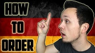 How to Order in Germany | German Culture