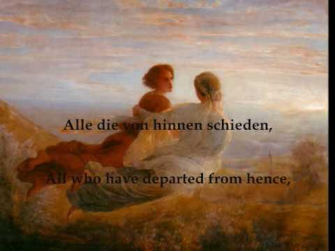 """Schubert - """"Litanei auf das Fest Aller Seelen"""" Fischer-Dieskau, Moore"""