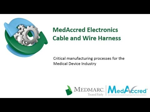 Critical Manufacturing Processes Series - Cable and Wire Harness