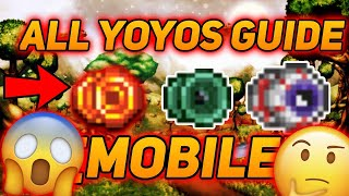 TERRARIA 1.3 MOBILE YOYO GUIDE + INFOS