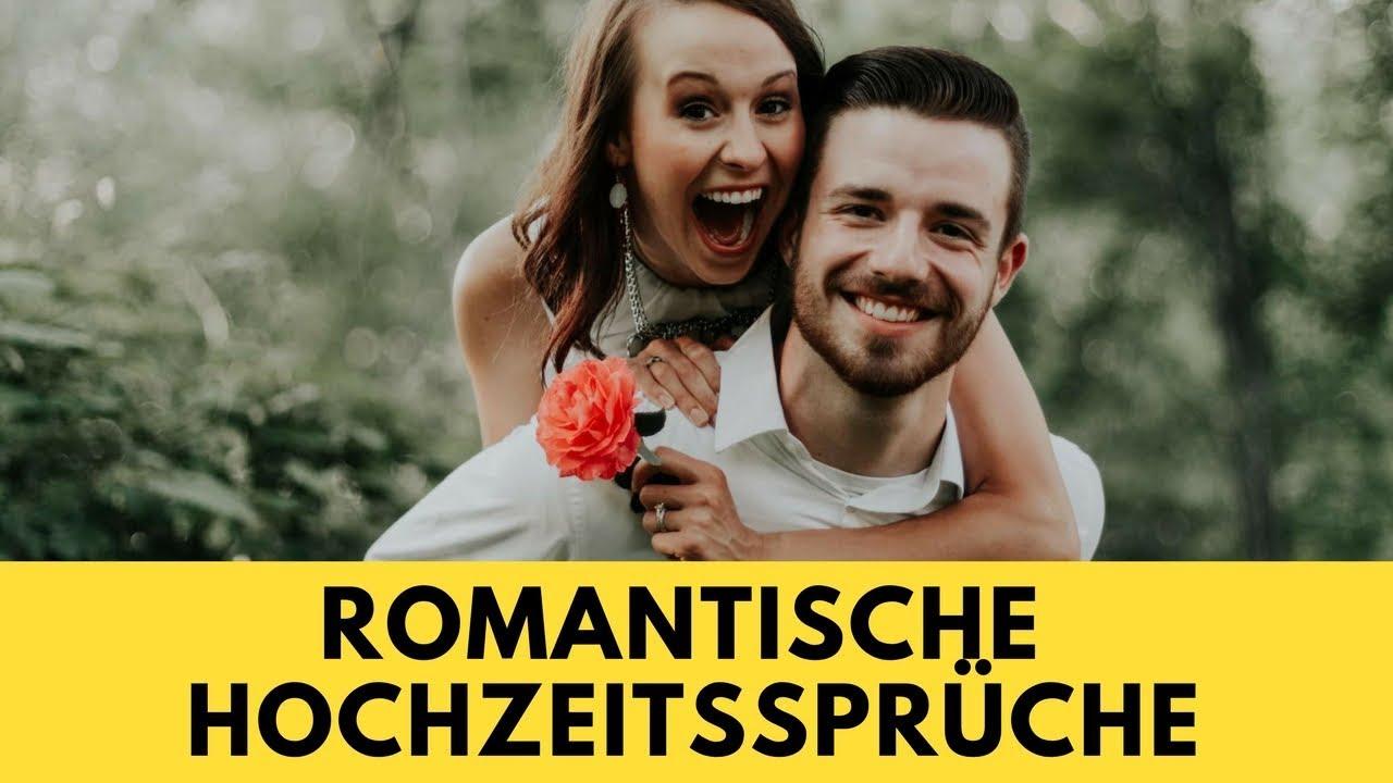 romantische hochzeitssprüche - youtube
