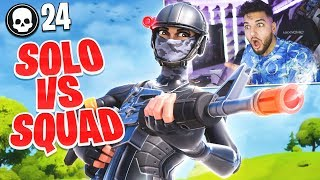 KNAX SOLO vs SQUADS 24 KILLS GAMEPLAY 😱