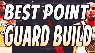 nba 2k17 best sharpshooter point guard build how to create a god point guard after patch 6
