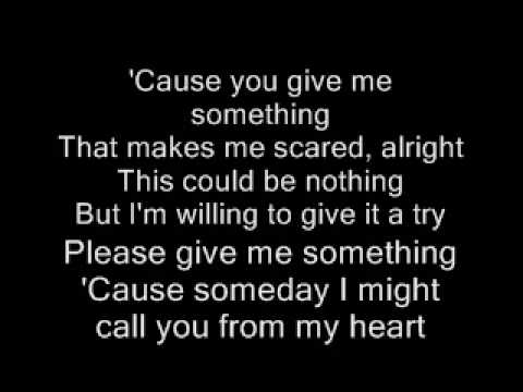 james morrison- you give me somthing with lyrics