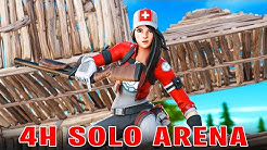 4H LANG W-KEYING in FORTNITE SOLO ARENA - Season 11