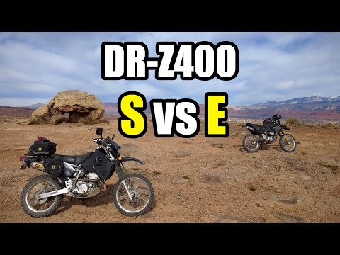 DRZ400E vs  DRZ400S Which Should You Buy? - YouTube