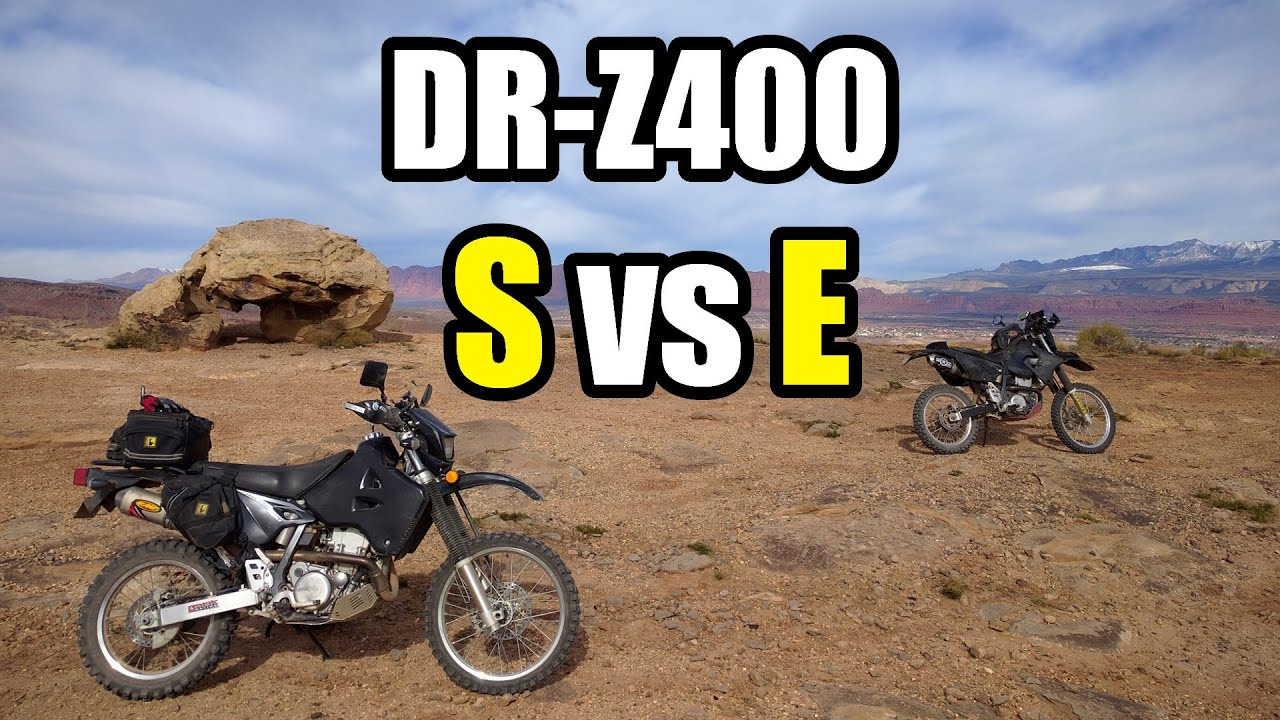 DRZ400E vs. DRZ400S Which Should You Buy? - YouTube
