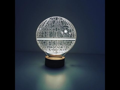 Captivating Unboxing   Death Star Lamp   Lamplanet   YouTube