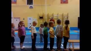 Детский фитнес видео, дети 3-4 года. Открытый урок