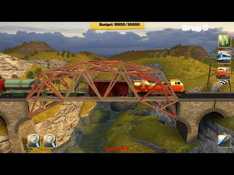Bridge Constructor Trains United Conductordom Los Traingeles Bridge 5  