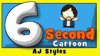 EP 14 - AJ Styles Karikatur- (6 Zweiten Täglichen Cartoon)