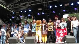 anelis assumpção & tulipa ruiz & negro leo @ virada cultural: vida de artista (encerramento do show)