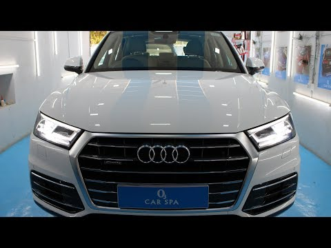 O3 Car Spa, Anand  (Audi Q5 , Ceramic Coating And Interior Deep Cleaning)