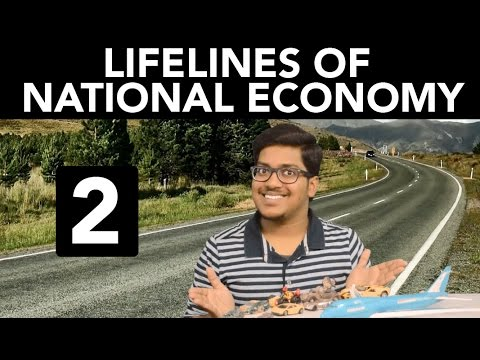 Geography: Lifelines of National Economy (Part 2)