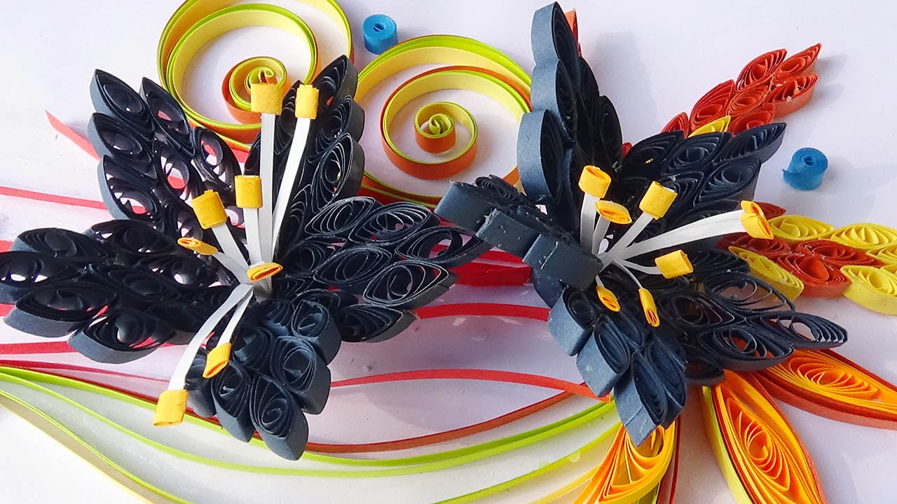 How to make paper quilling flower designs kubreforic how to make paper quilling flower designs paper quilling flowers how to make mightylinksfo