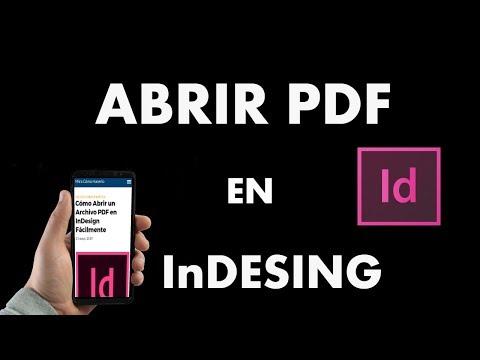 ¿Cómo Abrir un Archivo PDF en InDesign Fácilmente?