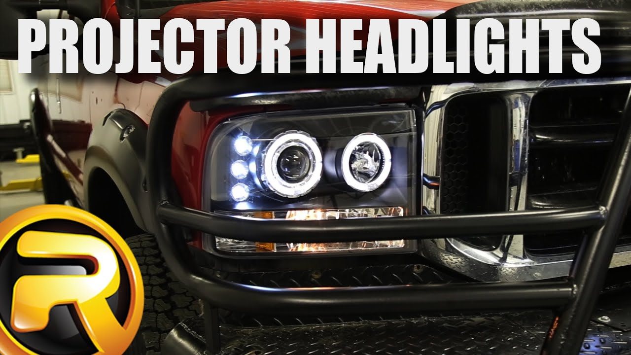 How To Install Spec D Projector Headlights Youtube Ford F 350 Tail Light Wiring Diagram
