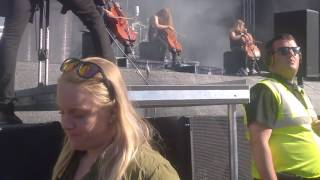Apocalyptica - Master of Puppets (Metallica cover) (Part 2) @ Tuska 2.7.2017