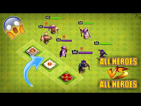 BARBARIAN KING VS ARCHER QUEEN VS GRAND WARDEN | 😱WHO WILL WIN? CLASH OF CLANS | TH13 UPDATE COC