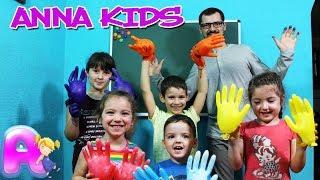Kids Go To School play with Draw Glove