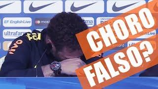 Neymar Chorando e Tite (Linguagem Corporal - SCAN)