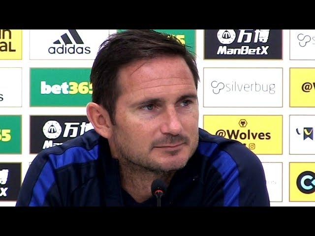 Wolves 2-5 Chelsea - Frank Lampard Full Post Match Press Conference - Premier League