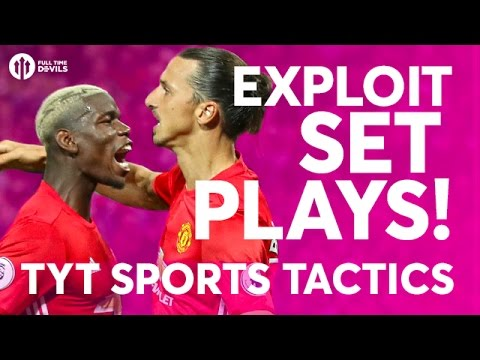 Download Zlatan and Pogba At Set Plays? Liverpool vs Manchester United   TYT Sports Let's Talk Tactics