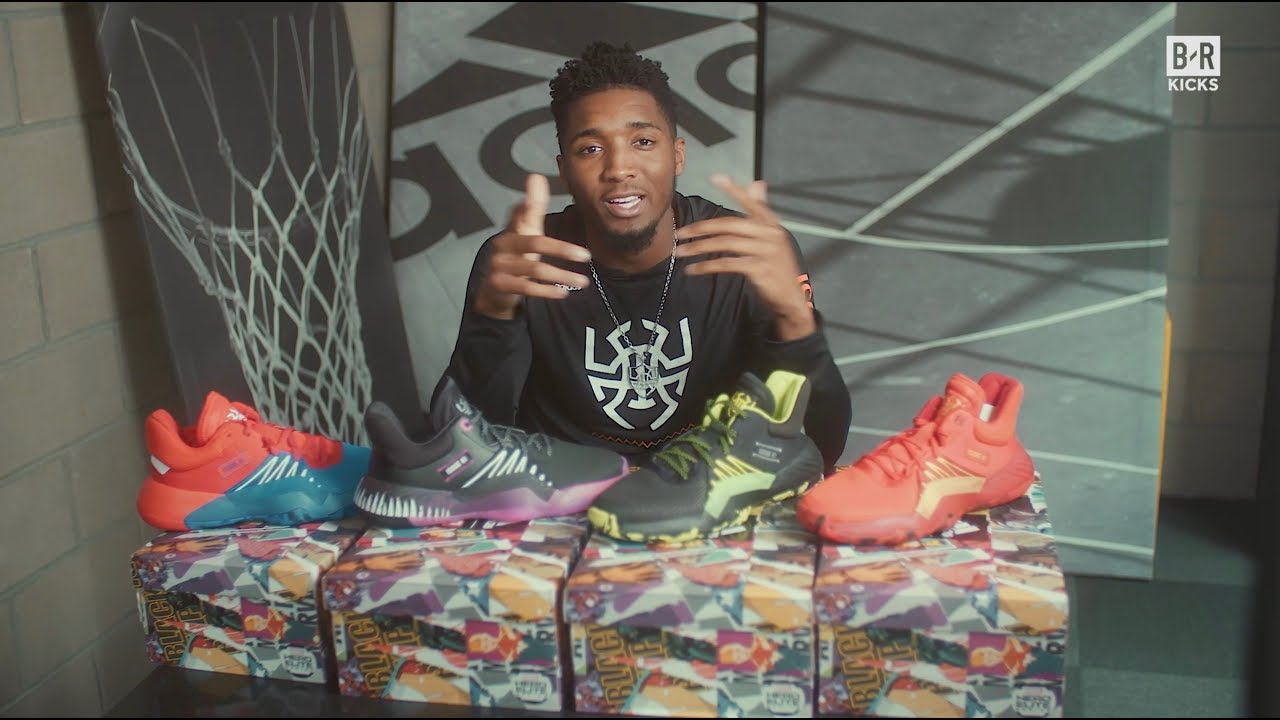 BR Kicks Unboxed with Donovan Mitchell: Adidas D.O.N. Issue #1