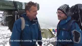 Glacier Archaeologists in the Field - Med brearkeologer ved isen