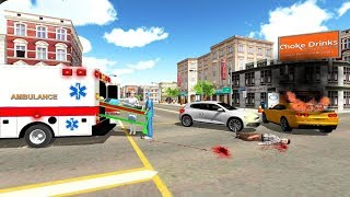 Amazing Ambulance Driving Game | New Rescue Driver Simulator Android GamePlay | By Game Crazy