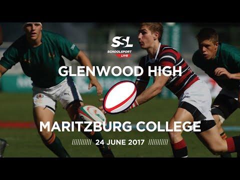 Glenwood High 1st XV vs Maritzburg College 1st XV, 24 June 2017