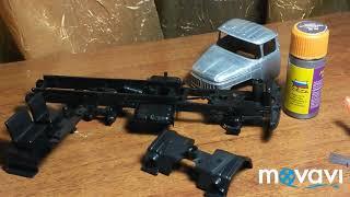 Зіл-131 АЦ-4,0 | AVD models | Складання моделі