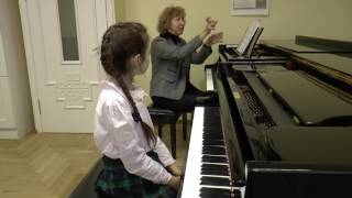 02.12.2014 Mira Marchenko's video-lesson with Al. Stychkina