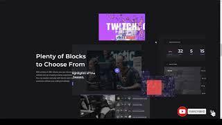 Respawn - Esports Gaming WordPress Theme team dark Abe