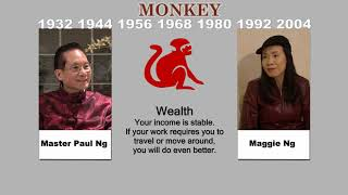 Canadian Chinese, Fengshui Master, Paul Ng, 2020, Zodiac Animal Predictions, Monkey
