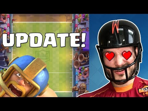 CLASH ROYALE TOUCHDOWN GAMEMODE! || Update || Let's Play CR