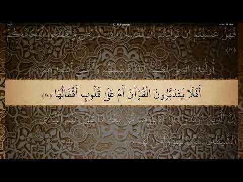 47 Sura Muhammad Ali Jaber - YouTube