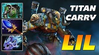 Lil Elder - TITAN CARRY - Dota 2 Pro Gameplay