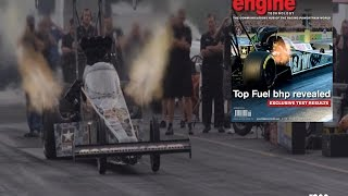 Out of the darkness. Exclusive Top Fuel Dragster power test