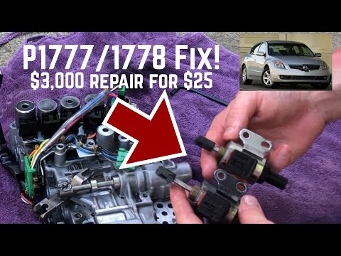 2008 Nissan Altima 2.5 Step Motor Replacement Weak Acceleration