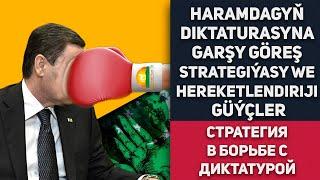 Turkmenistan  Haramdagyň Diktaturasyna Garşy Göreş Strategiýasy We Hereketlendiriji Güýçler