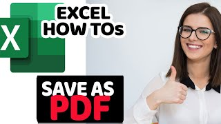 How to Save Excel File as PDF