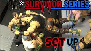 WWE Survivor Series Figure set up