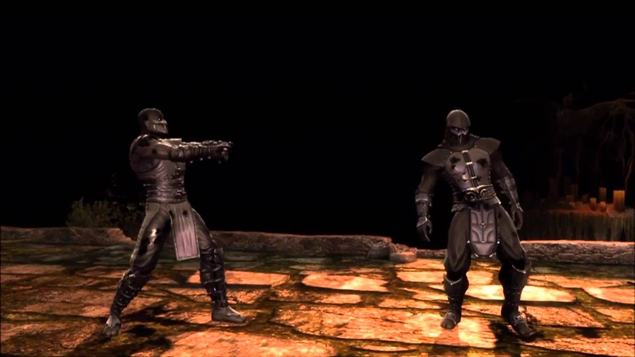 Mortal Kombat 9 Noob Saibot Fatality 1 2 Stage And Babality Hd
