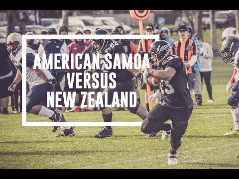 American Samoa vs NZ SteelBlacks Grid Iron Match 16 July 2016
