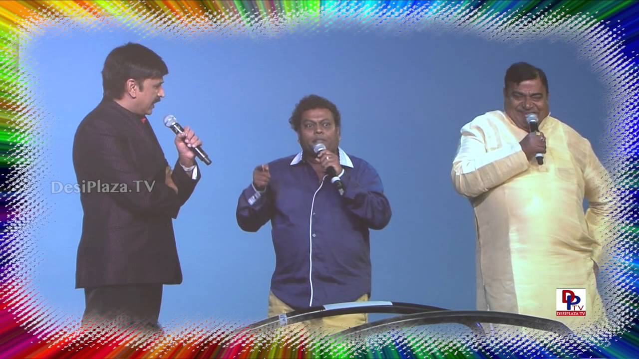 Ramesh Aravind, Sadhu Kokila and Doddanna at 9th Akka Convention Atlantic City 2016